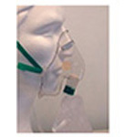 Nonrebreathing Mask w/Safety Vent and 7 Foot Oxygen Tubing, Adult
