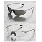 Elvex Safety Reader Glasses, Clear Lens, Gray Frames, Bifocal 1.5