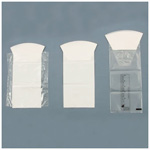 Convenience Bag, Clear Graduated w/o Hand Protection, Rigid Collar, Inner Seal, 1000cc, 1200/Case *discontinued*