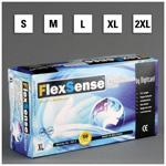 Flexsense Gloves, Nitrile, Power Free, Textured, 9 1/2inch, MED