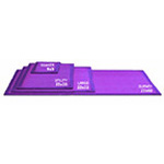 DriPAD Soaker Absorbent Pad, 9inch x 9inch, Purple