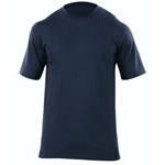 5.11 Men Station Wear T-Shirt, Short Sleeve, Fire Navy, XL