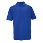 5.11 Men Professional Polo Shirt, Pique Knit, Short Sleeve, Academy Blue, 2XL