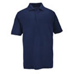 5.11 Men Professional Polo Shirt, Pique Knit, Short Sleeve, Dark Navy, 2XL