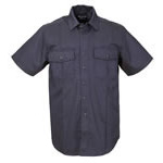 5.11 Men A-Class Station Shirt, Short Sleeve, Navy, 2XL
