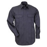 5.11 Men A-Class Station Shirt, Long Sleeve, Fire Navy, 2XL