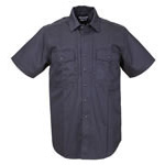 5.11 Men B-Class Station Shirt, Short Sleeve, Fire Navy, 2XL