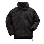 5.11 Men 3-in-1 Parka, Black, SM