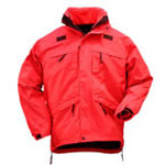 5.11 Men 3-in-1 Parka, Range Red, 2XL