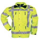 5.11 Men Reversible Hi-Vis Parka, No Fleece, 2XL