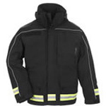 5.11 Men Responder Parka, Black, SM