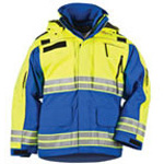 5.11 Men Responder Hi-Vis Parka, Royal Blue, XL