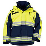 5.11 Men Responder Hi-Vis Parka, Dark Navy, 2XL
