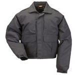 5.11 Men Double Duty Jacket, Black, 2XL