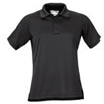 5.11 Women Performance Polo Shirt, Short Sleeve, Black, LG
