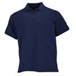 5.11 Women Professional Polo Shirt, Short Sleeve Dark Navy, SM