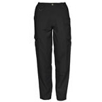 5.11 Women Cotton Tactical Pant, Black, 4/R