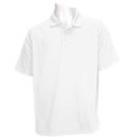 5.11 Men Performance Polo Shirt, Short Sleeve, White, MED