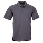 5.11 Men Performance Polo Shirt, Short Sleeve, Charcoal Grey, 2XL