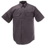 5.11 Men Taclite Pro Shirt, Short Sleeve, Charcoal, 2XL