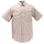 5.11 Men Taclite Pro Shirt, Short Sleeve, TDU Khaki, 2XL