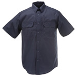 5.11 Men Taclite Pro Shirt, Short Sleeve, Dark Navy, LG
