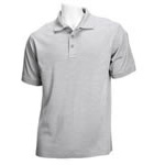 5.11 Men Tactical Polo Shirt, Short Sleeves Heather Grey, 2XL