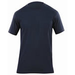 5.11 Men Professional Pocket T-Shirt, Short Sleeve, Fire Navy, 2XL