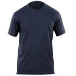5.11 Men Professional Short Sleeve T-Shirt, Fire Navy, LG