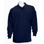 5.11 Men Performance Polo Shirts, Long Sleeve, Dark Navy, 2XL