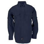 5.11 Men Tactical Shirt, Long Sleeve, Fire Navy, 2XL