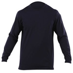 5.11 Men Professional Long Sleeve T Shirts, Fire Navy, SM