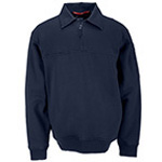 5.11 Men Job Shirt w/Canvas Details, Fire Navy - Tall, 2XL/T