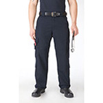 5.11 Men Taclite EMS Pant, Dark Navy Unhemmed, 52/UN