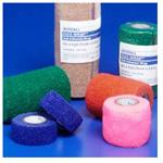 FLEX-WRAP Cohesive Bandage, Non-sterile, Bulk, Tan, 3inch x 5 Yard