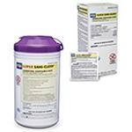 Super Sani-Cloth Germicidal Disposable Wipes, Alcohol, LG Wipes, 6inch x 6inch, 160/Tub