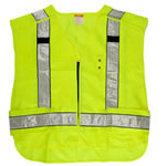 5.11 Safety Vest, 5 Point Breakaway, 2XL Plus, Hi-Vis Yellow