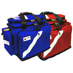 BLS Trauma Deployment System, 21inch L x 11 1/2inch W x 15inch D, Royal Blue, w/o Modules