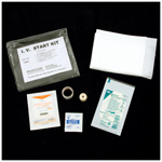 IV Start Kit, incl Tegaderm IV Dressing, Tourniquet, Alcohol Prep Pads, Povidine Single Swab, etc.