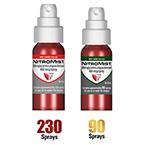 NitroMist 400 mcg Spray, 4.1 gm Bottle, 90 metered doses