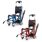 Ferno EZ-Glide Evacuation Stair Chair w/Tracks, Red