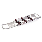 Ferno Model 65 Scoop Stretcher with Black Nylon Straps with Metal Buckles