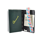 Padfolio, Black, Letter Size, 8 1/2inch x 11inch