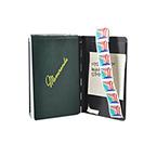 Padfolio, Black, Pocket Size, 3inch x 5inch