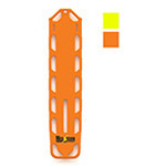 Curaplex Elite Backboard, Without Pins, Orange