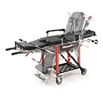 28Z PROFlexx Chair Cot with Hard Tray, Rescue Red