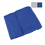 Curaplex Blanket, Fleece, 60inch x 90inch, Navy Blue