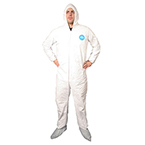*Limited Quantity* Tyvek Suit, w/ Hood, LG