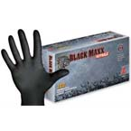 Black Maxx Nitrile Exam Gloves, Powder Free, SM