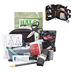 Curaplex Compact Responder Kit, Advanced, Level Two, w/SOF, Black